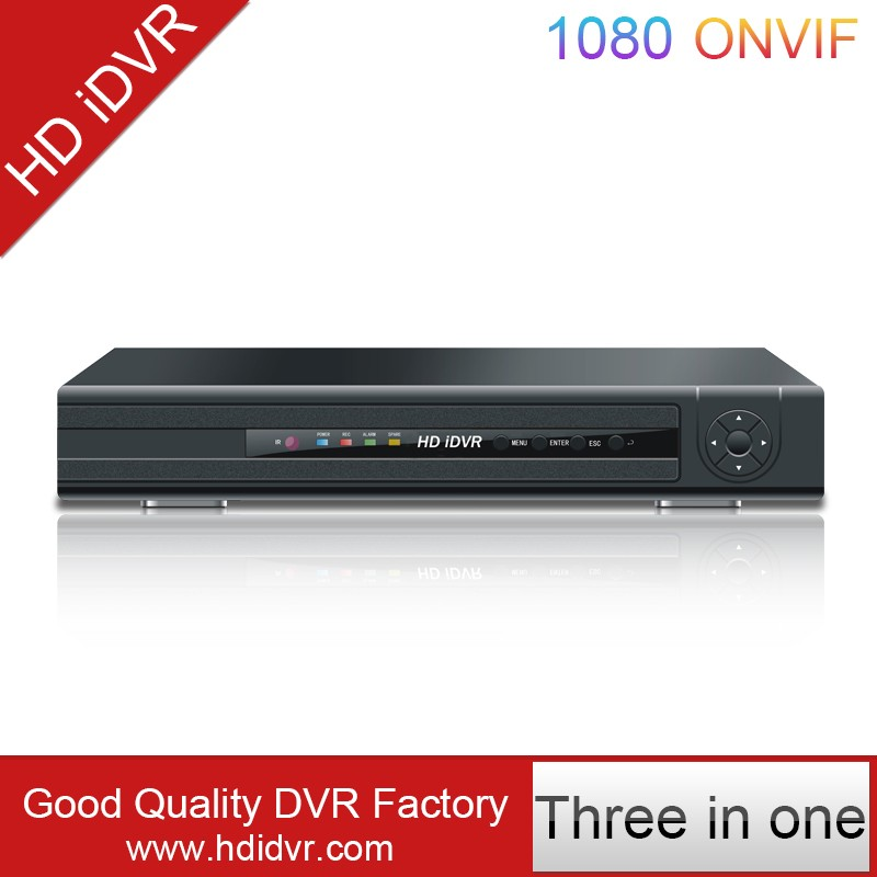 4CH H.264 Embeded DVR Network CCTV Digital Video Recorder 4CH AHD DVR 7604LM Details