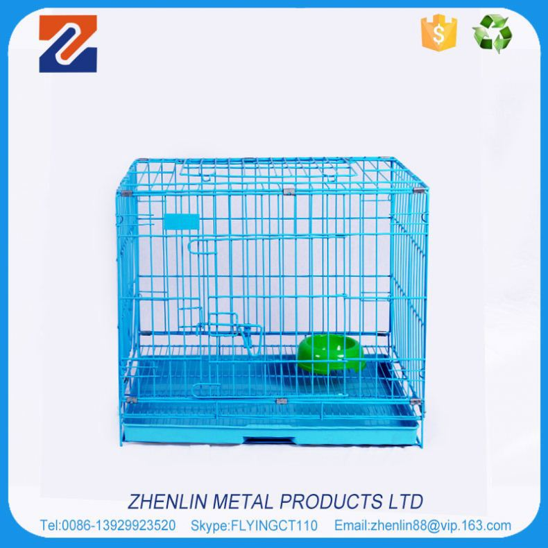 China alibaba high quality metal welded wire dog cage kennel