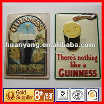 custom metal plate for advertising
