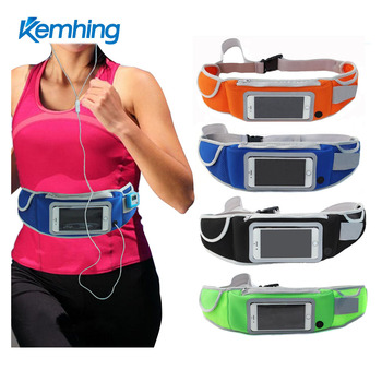 Best price lightweight neoprene waist pouch running wait bag pack