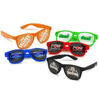 customized logo promotional gift UV 400 pinhole sun glasses with FDA CE made in China