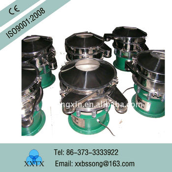 High efficiency Wastewater Treatment Rotary Screen Vibrating TX Machinery