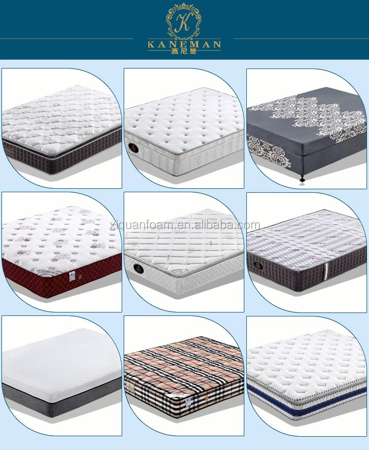 CFR1633 fireproof Bamboo travle cooling visco roll up Gel Memory Foam Mattress