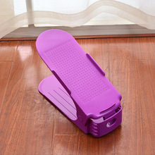 2017 Popular Cheap Plastic Adjustable Storage Shoe Rack Shoe Holders