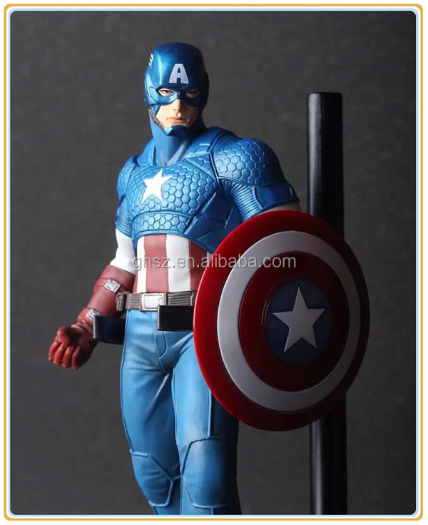 Collection pvc hot toys marvel avengers captain america figure factory