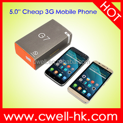 H-Mobile G7 Dual SIM Card GSM WCDMA Android 4.4 WIFI GPS cheap big screen android phone