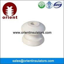D shackle insulator in insulation material & elements