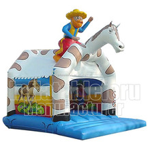 Low Price Happy Hop Inflatable Horse Bouncer/Small Inflatable Horse Bouncer