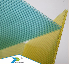 New products PC material thin flexible plastic cover honeycomb sheet