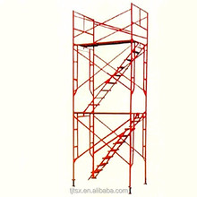 China factory Tianjin TSX used types door scaffolding for sale in uae