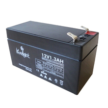 Smallest lead acid battery 12V 1.3AH cute batteries for homeuse
