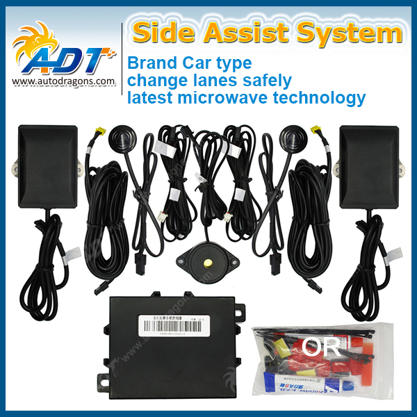 Blind Spot Detection and Monitoring Alert System with 2 Sensor for Car and SUV