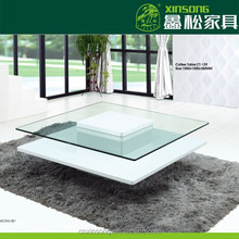 2014 North China Shengfang high gloss square coffee table