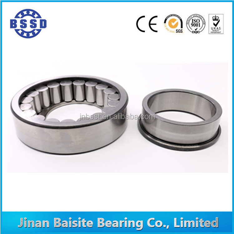 High Quality Cylindrical Roller Steel Cage Bearings N219