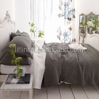french linen fiber wide width bedding fabric