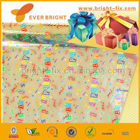 2014 China Supplier gift wrap paper/colored cellophane gift wrap/gift wrap bouquets