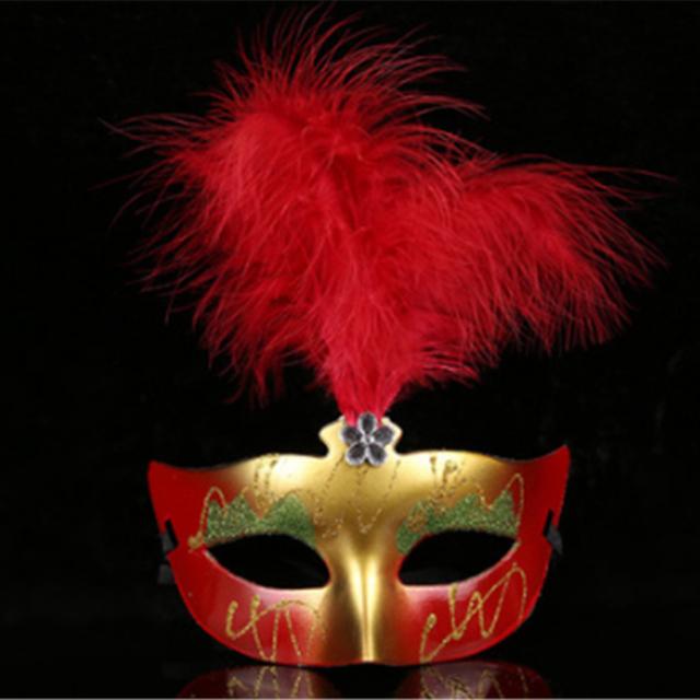 2017 best selling feather venetian carnival masks