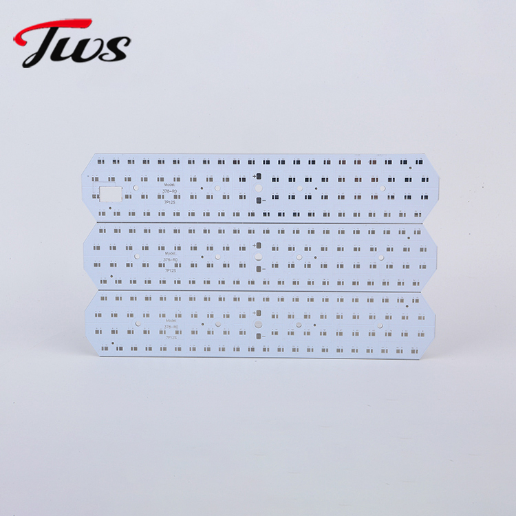 Mass production of aluminum substrate proofing, lightweight board single-sided aluminum PCB