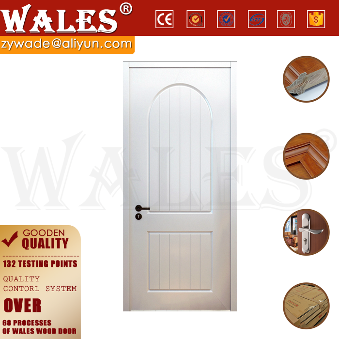 Swing type wooden door interior doors for small spaces