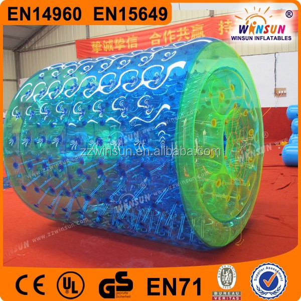 Commercial US and GS approval PVC or TPU colorful inflatable hamster wheel