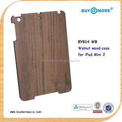 Luxury Natural Wood Case For Apple iPad Mini Cases Bamboo Wood Hard Back For Apple iPad Mini2