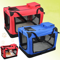 Airline Safety soft dog crate / pet folding cage/car seat bag