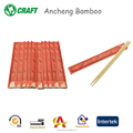 Custom sushi sticks cheap bamboo wooden biodegradable chopsticks
