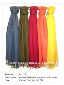 new Viscose pashmina shawls with fast delivery from India