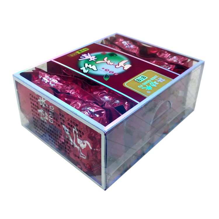 Factory offer square clear plastic box transparent plastic packaging box