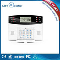 Factory Made Home Burglar Alarm System Wireless 433MHZ Cellphone SMS Calling