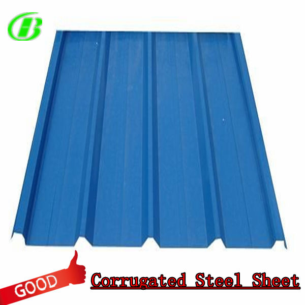 painted metal roofing/metal corrugated roofing sheets
