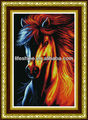 Horse wall decor fabric painting Diy Crystal Diamond Painting