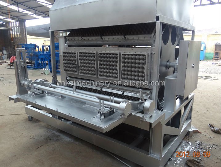 Good quality ! pulp moulding egg/fruit tray machine/ Recycling Waste Paper Egg Tray Machine