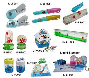Liquid Stapler, Liquid Ruler, Liquid Tape Dispenser