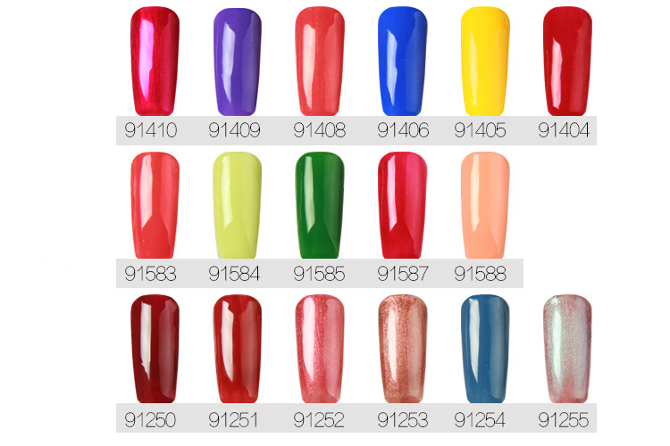 Nail Supplies Soak Off UV Gel Polish Stable Nails UV Gel