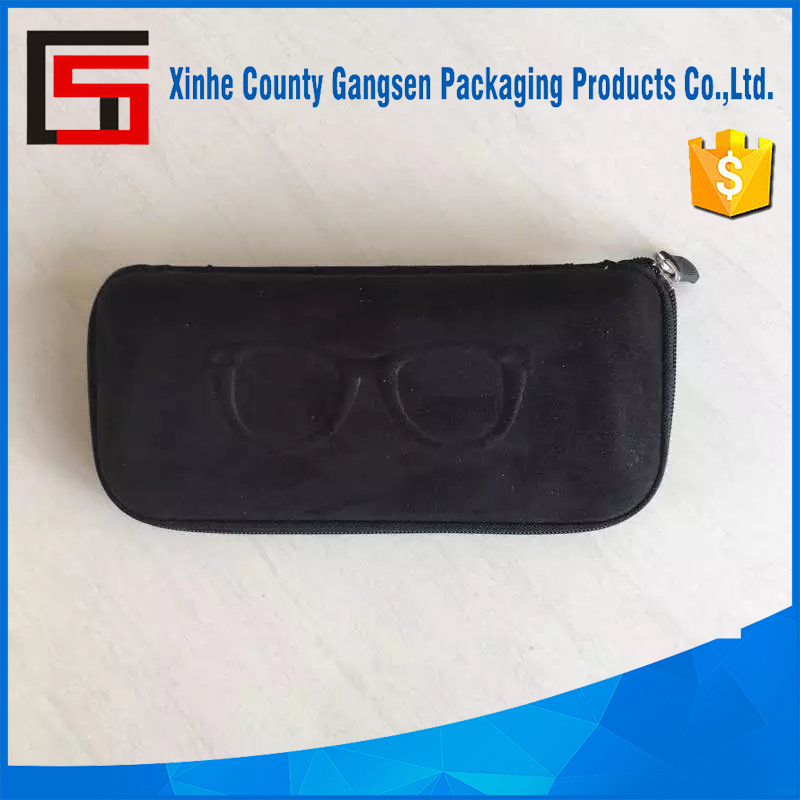 Hot sale Zipper cover EVA Sunglass Case