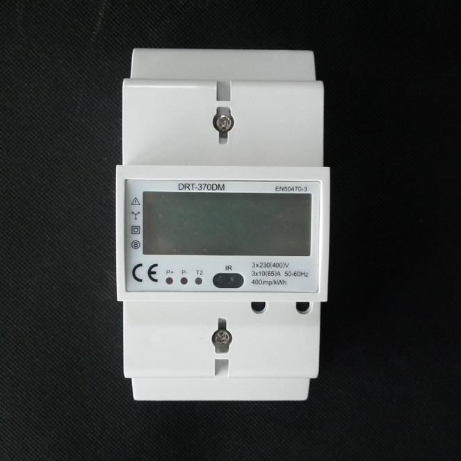 Forlong DRT-370DM RS485 m-bus/modbus LCD display 3 phase four wire kWh din rail <strong>meter</strong>