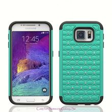 Hot items Silicone and PC Hybrid bling phone case For Nokia Lumia 820