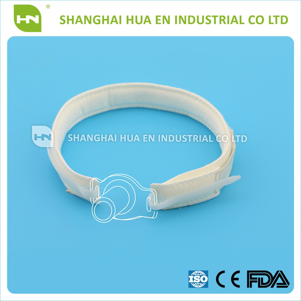 Medical products disposable sterling silver tracheostomy tube holder