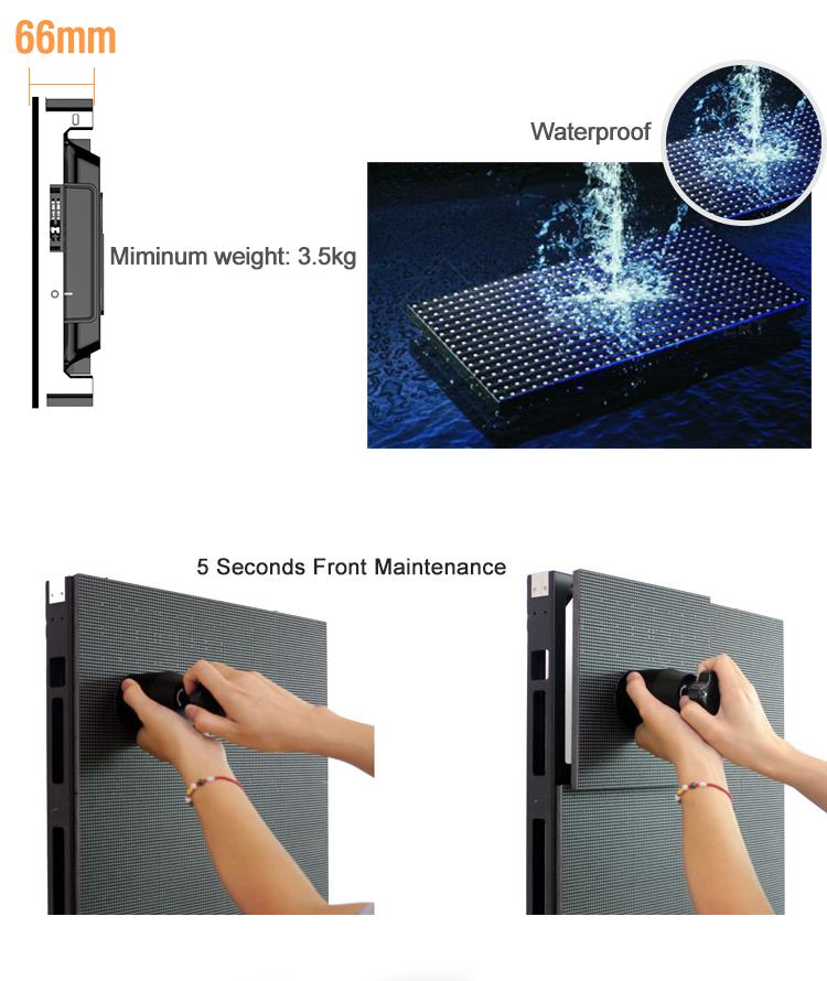 Amostra grátis tamanho grande dot-matriz P4 aluguer interior outdoors digitais para venda