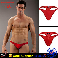 wangjiang hot sale sexy photo image boys thong for men G-string