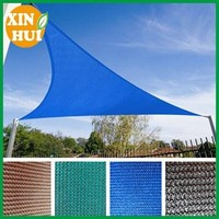 100% PE UV Block 5 years outdoor appilication Sun Shade Net,Green color breathable fabric with many colors