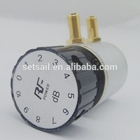 0-10dB/90dB SMA type RF Variable Rotary Step Attenuator made in China