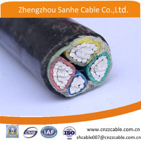 0.6/1Kv aluminum conductor XLPE /PVC nsulation POWER cable