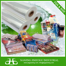 plastic POF shrink film 5-layer food grade perforated pof shrink film for food packaging