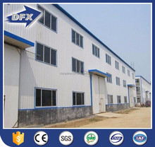 large span construction structural steel warehouse shed fabrication building