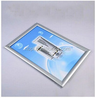 aluminum clip poster frame wall mounted poster frames for picture clip holder