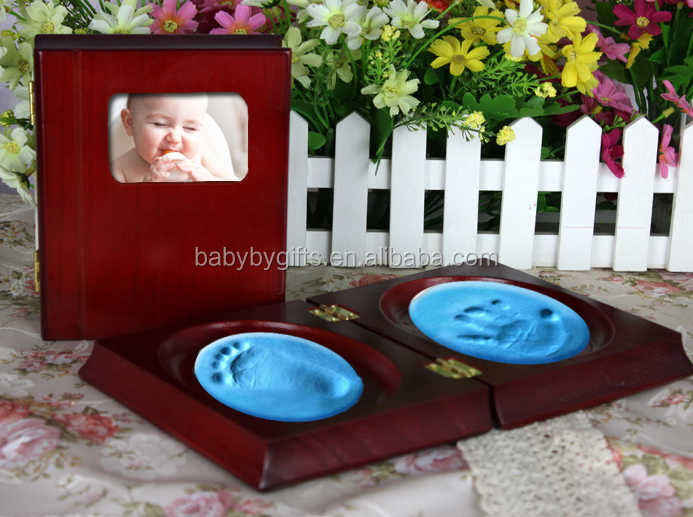 baby hand and foot casting handmade decoration print set