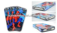 3D Sublimation Polymer Case, MT-IP4-3D 3d pororo silicone case for iphone