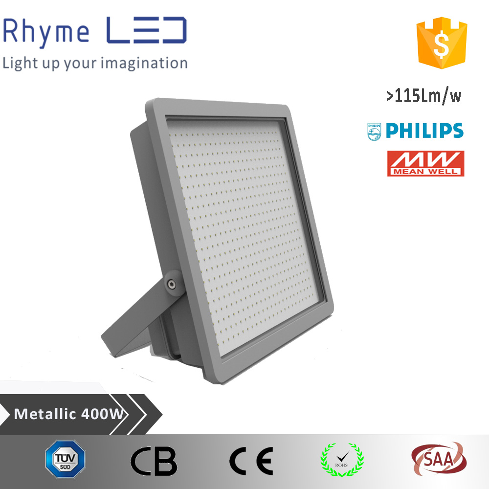 rechargeable battery for 400w led flood light industrial